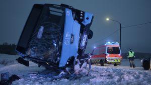 Bussolycka i Sibbo