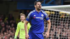 Diego Costa satte kvitteringen på stopptid.