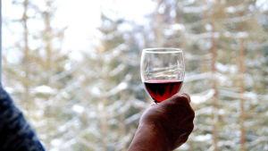 Ensamhet bidrar till ökad alkoholkonsumtion bland äldre personer.