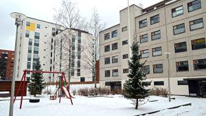 70-tals höghus på Drumsö.