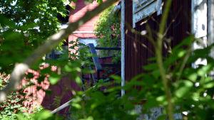 Trappan upp till konstnärshuset i Borgå