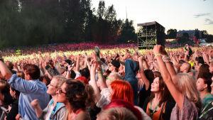 Publikhav på Weekend Festival