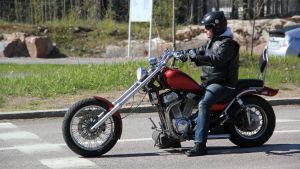 Motorcyklist.