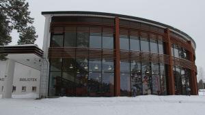 Biblioteket i Pyttis.