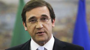Portugals premiärminister Pedro Passos Coelho
