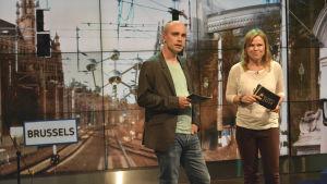 Freddi Wahlström och Ingemo Lindroos