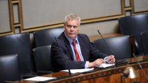 Finansminister Antti Rinne