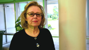 Tidigare konstmuseichefen Anne-Maj Salin.