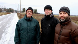 Åsa Svan, Robert Laukkonen och Marcus Söderström