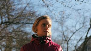Heidi Lindqvist puistossa, PK