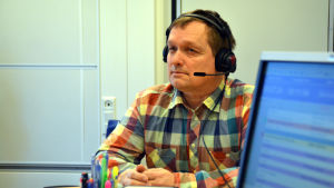 Kristian Forsell, verksamhetsledare i FSO, gästade Sportmåndag 23.3.
