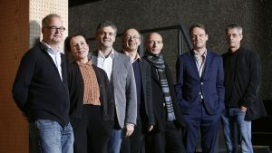 Theatertreffens kritikerjury poserar