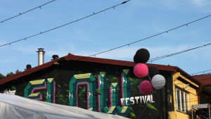 Fabrik och graffiti