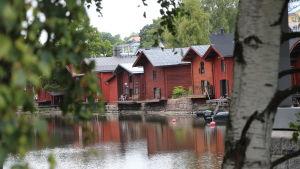 Strandbodarna i Borgå.