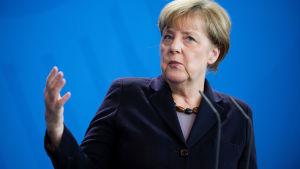 Saksan liittokansleri Angela Merkel.
