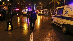 buss exploderade i centrum av Tunis