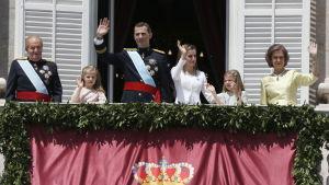 Espanjan kuninkaallinen perhe