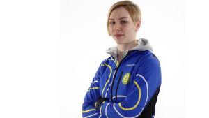 Linda Sandblom i Sportmåndag 7.3.2016