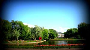 Geokätkö Pietarissa Jusupovin puistossa