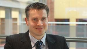 Jan von Gerich, chefsanalytiker på Nordea