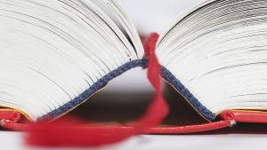 En uppslagen bok