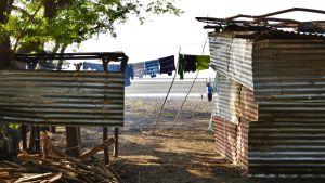 Kläder på tork på ön Ometepe, Nicaragua.