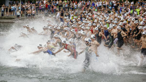 Triathlon i Zurich.