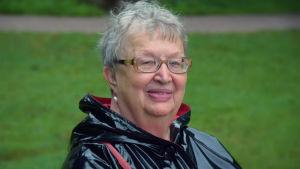 Författaren Ann-Mari Lindberg