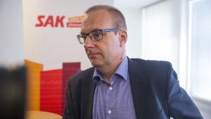Jarkko Eloranta då FFC:s styrelse möts 3.6.2016.