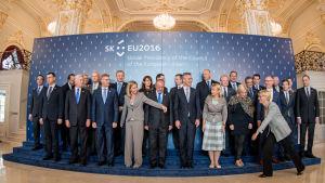 EU:s försvarsministrar samlades i Bratislava.