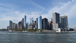 Vy över Manhattan i New York.