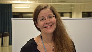 Marina Catani, museidirektör för Borgå museum