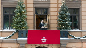 Protokollchef Mika Akkanen har utlyst julfreden i Åbo sedan 2013.