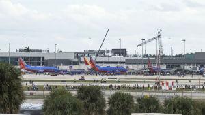 Flygplatsen Fort Lauderdale i Florida.