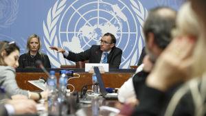 FN-medlaren Espen Barth Eide säger att man är nära en överenskommelse om hur stor procent bägge sidor ska kontrollera i ett framtida, enat Cypern