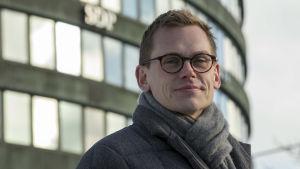 SDP:n puoluesihteeri Antton Rönnholm