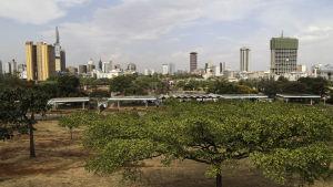 Nairobin keskusta.