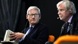 Carl Bildt och Erkki Tuomioja