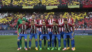 Atletico Madrids lagbild inför kvartsfinalen mot Leicester.