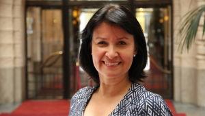 Maarit Bystedt är kommunikationschef på Nasdaq i Helsingfors.