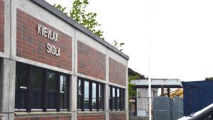 Kvevlax skola under ombyggnad