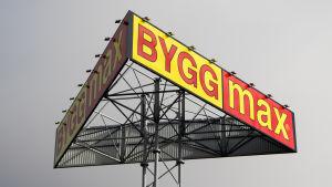 byggmax skylt