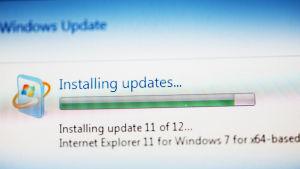 En Windows uppdatering.