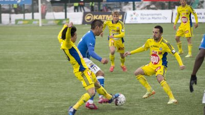 HJK åkte hem med tre poäng från Rovaniemi. 272c3f4b11b33