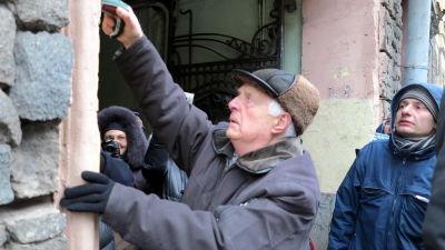 Stalins offer hedrades utanfor moskva