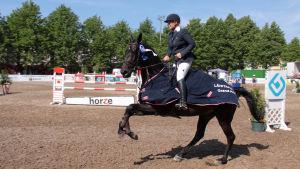 Sanna Backlund och Wilhelmina, Hangö Sea Horse Week 2014
