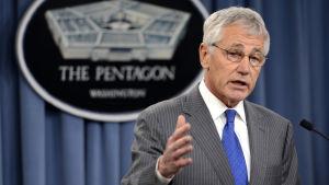 USA:s försvarsminister Chuck Hagel.