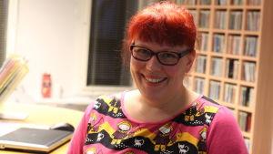 Kati Källman, vikarierande verksamhetsledare för Korsholms 4H