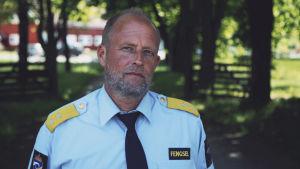 Profilbild av Tom Eberhardt som är fängelsechef för norska Bastøy fengsel.
