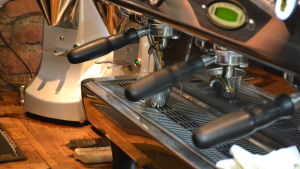 Apparat för kaffetillredning